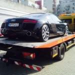 alacsony építésű autók szakszerű szállítása