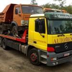 kamaz teherautó mentés