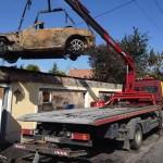 balesetes autó szállítás